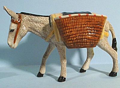K9561c Grey Donkey with Baskets (Image1)