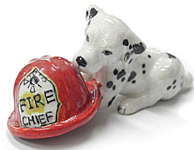 R212 Dalmatian Puppy with Helmet (Image1)