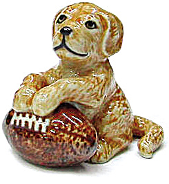 R246cr Retriever Puppy with Football (Image1)