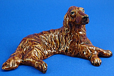Klima K1391 Lying Irish Setter (Image1)
