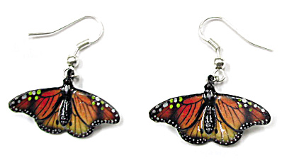 Je005 Butterfly Earrings