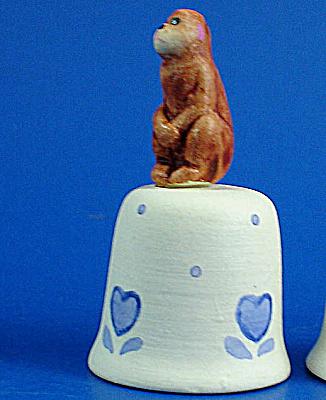 Hand Painted Ceramic Thimble - Monkey (Image1)