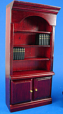 Dollhouse Wood Bookcase