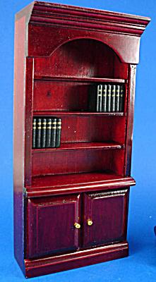 Dollhouse Wood Bookcase (Image1)