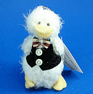 Miniature Plush White Duck