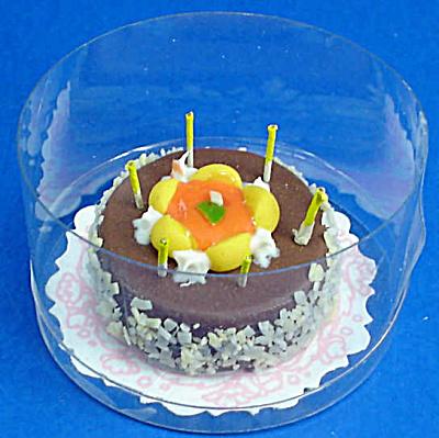 Dollhouse Miniature Birthday Cake (Image1)