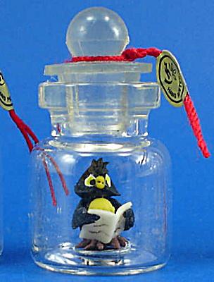 Miniature Owl in a Bottle (Image1)