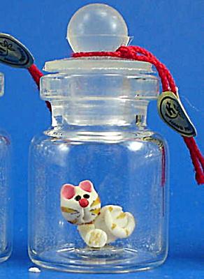 Klima Miniature Cat in a Bottle (Image1)