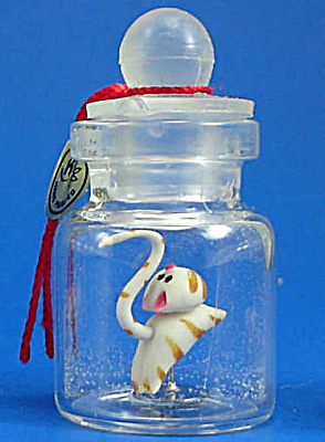 Miniature Cat in a Bottle (Image1)