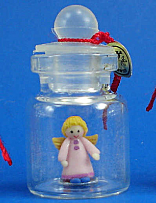 Miniature Angel in a Bottle (Image1)