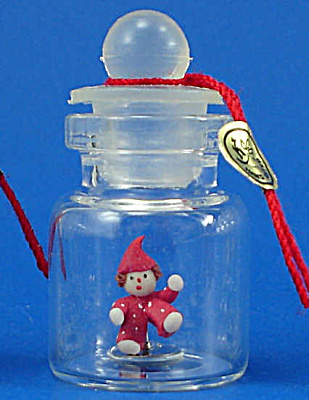 Miniature Clown Doll in a Bottle (Image1)
