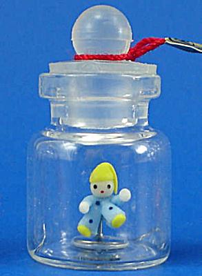 Klima Miniature Clown Doll in a Bottle (Image1)