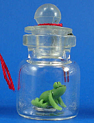Miniature Frog In A Bottle