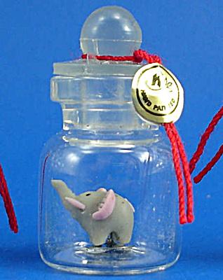 Miniature Elephant in a Bottle (Image1)
