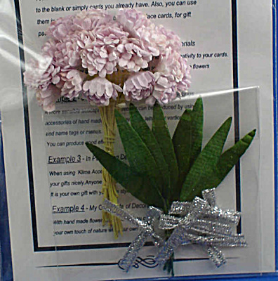 Miniature Pink Paper Flowers (Image1)