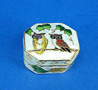 Miniature Enamel Metal Box (Image1)