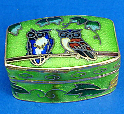 Miniature Enamel Metal Box (Image1)