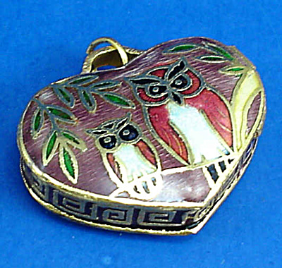Miniature Enamel Metal Locket (Image1)