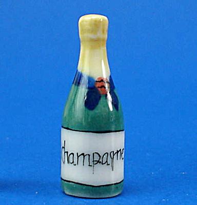Dollhouse Miniature Champagne Bottle (Image1)