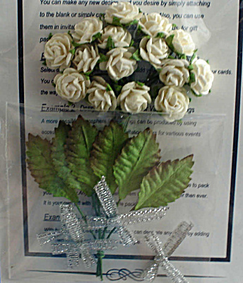 Miniature Paper White Roses (Image1)