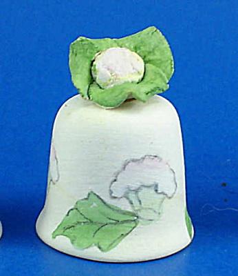 Handpainted Ceramic Thimble - Califlower (Image1)