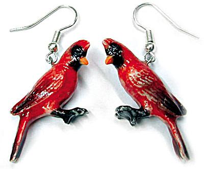 JE002 Cardinal Earrings (Image1)