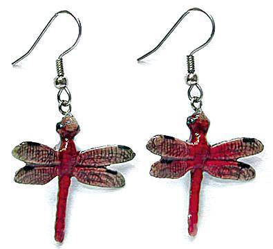 JE044 Dragonfly Earrings (Image1)