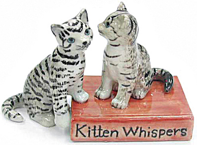 R326 Kitten Whispers, Cats On Book