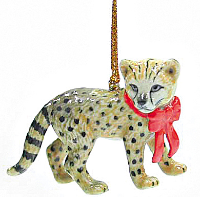 R268 Cheetah Cub Ornament