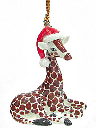 R267 Giraffe Cub Ornament (Image1)