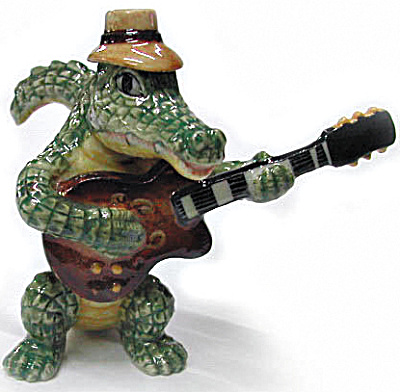 Mb002r Croc With Guitar
