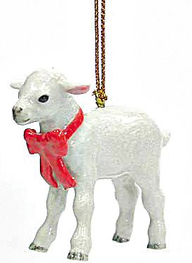 R308 Lamb Ornament