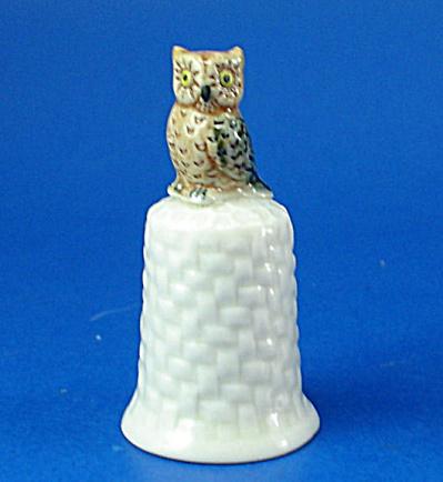 K4141 Owl Thimble (Image1)