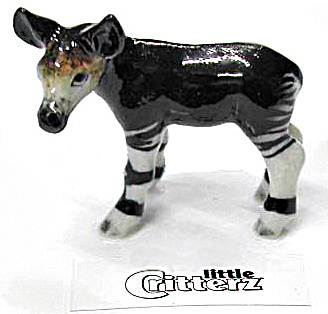 Little Critterz Lc406 Okapi Calf 'tongue'