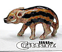 Little Critterz Lc416 Red River Wild Piglet 'racer'