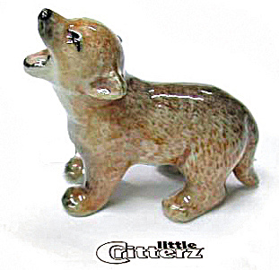 Little Critterz Lc102 Coyote Pup 'howler'