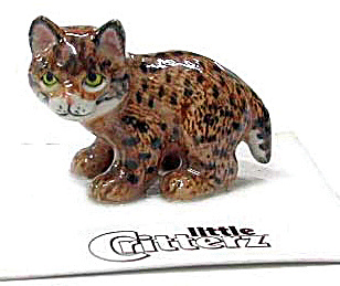 Little Critterz Lc103 Bobcat Kitten 'whiskers'