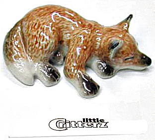 Little Critterz Lc106 Sleeping Fox Kit 'sly'