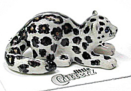 little Critterz LC410 Snow Leopard Cub 'King' (Image1)