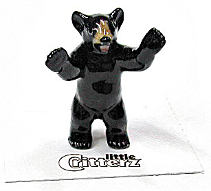 Little Critterz Lc101 Black Bear Cub 'little John'