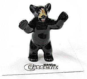 little Critterz LC101 Black Bear Cub 'Little John' (Image1)