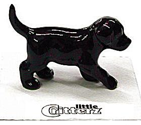 little Critterz LC802 Black Labrador Puppy (Image1)