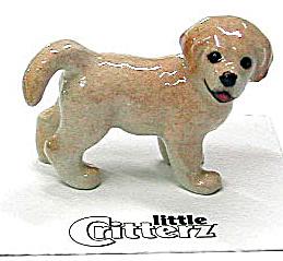 little Critterz LC801 Golden Retriever Puppy (Image1)