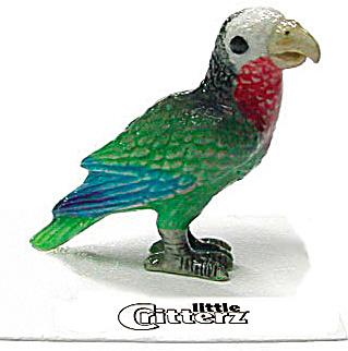little Critterz LC422 Cuban Amazon Parrot (Image1)
