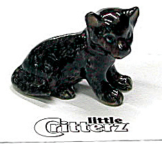Little Critterz Lc124 Black Panther Cub