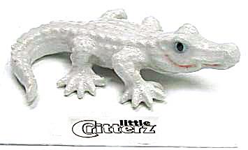 little Critterz LC307 White Alligator (Image1)