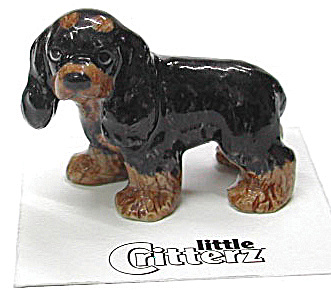 Little Critterz Lc812 Cocker Spaniel Puppy Dog