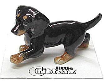 little Critterz LC808 Dachshund Puppy Dog (Image1)
