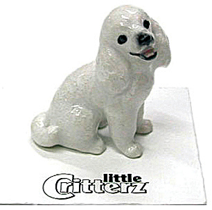 Little Critterz Lc809 Poodle Puppy Dog