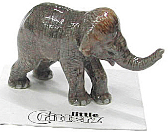 Little Critterz Lc429 Asian Elephant Calf